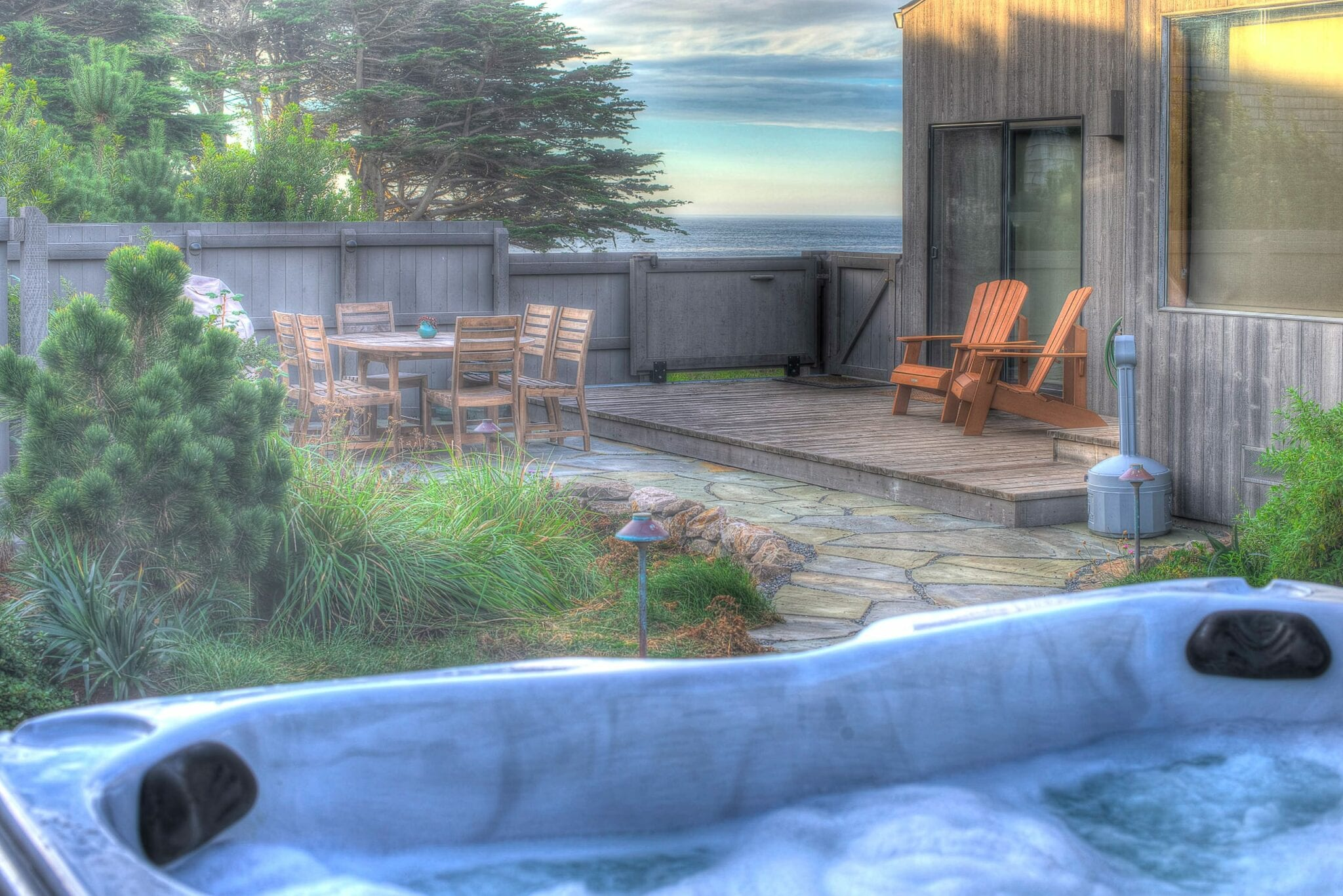 Ocean viewsprivate courtyard, Dog friendly,Kid friendly, Sea Ranch, Abalone Bay, Vacation Rental, oceanfront