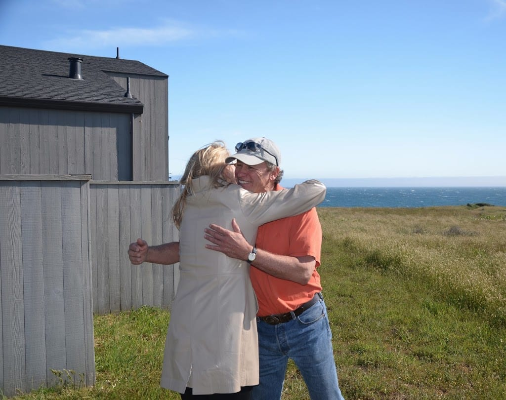 She said yes:  Sea Ranch Vacation Rental-Abalone Bay is ours!