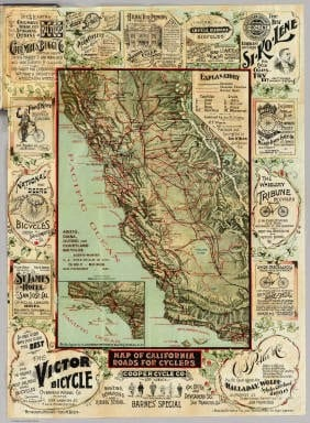 Pedaling back in time- Bike trail maps