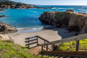private cove ,Abalone Bay Vacation Rental, Sea Ranch