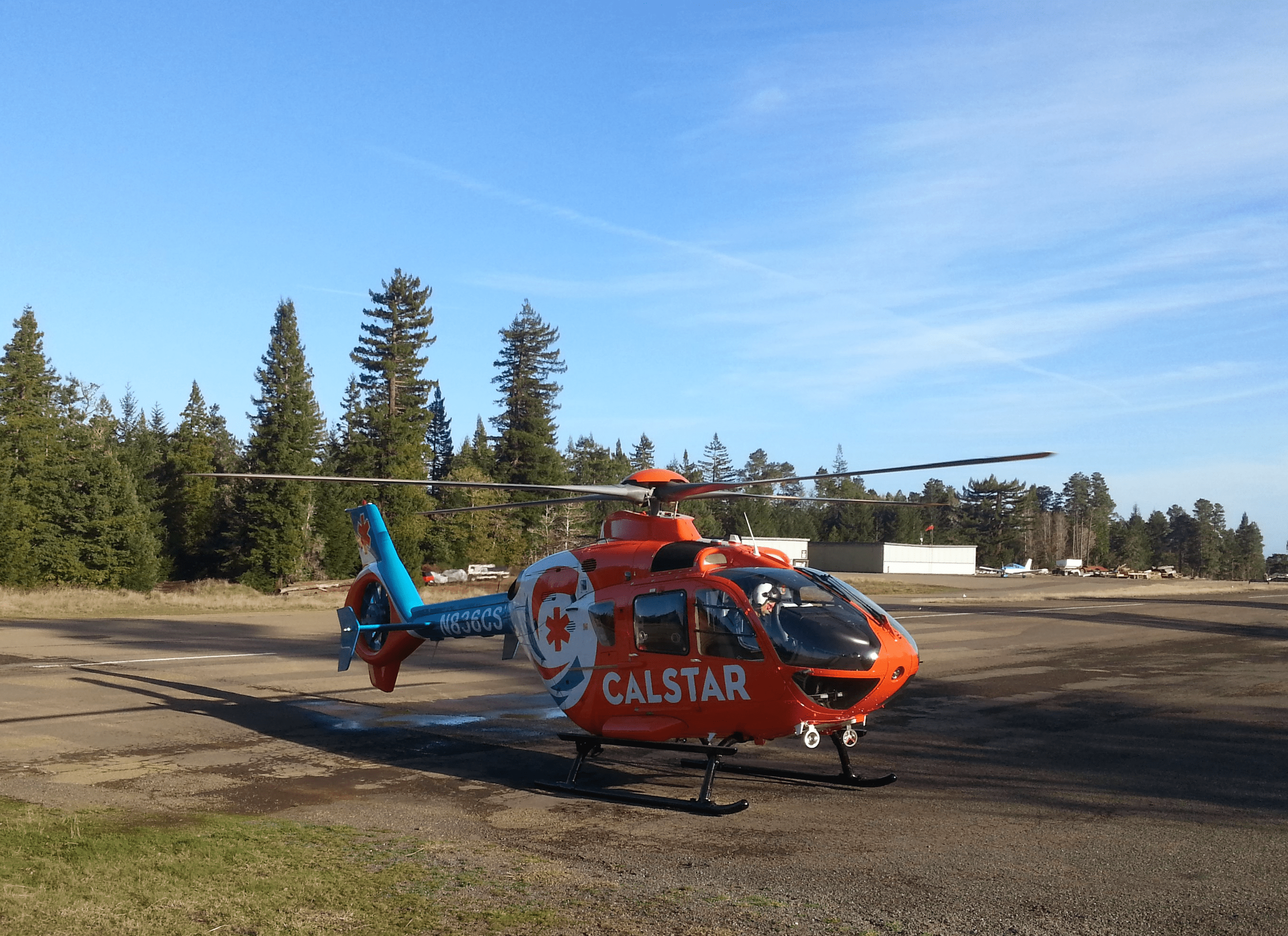 In the air with Coast Life Support District's ambulance services