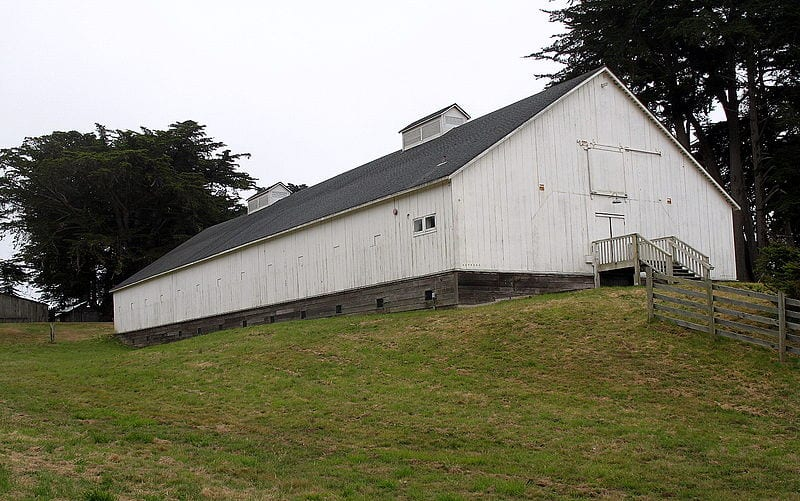 Knipp and Stengel Sea Ranch Barn,