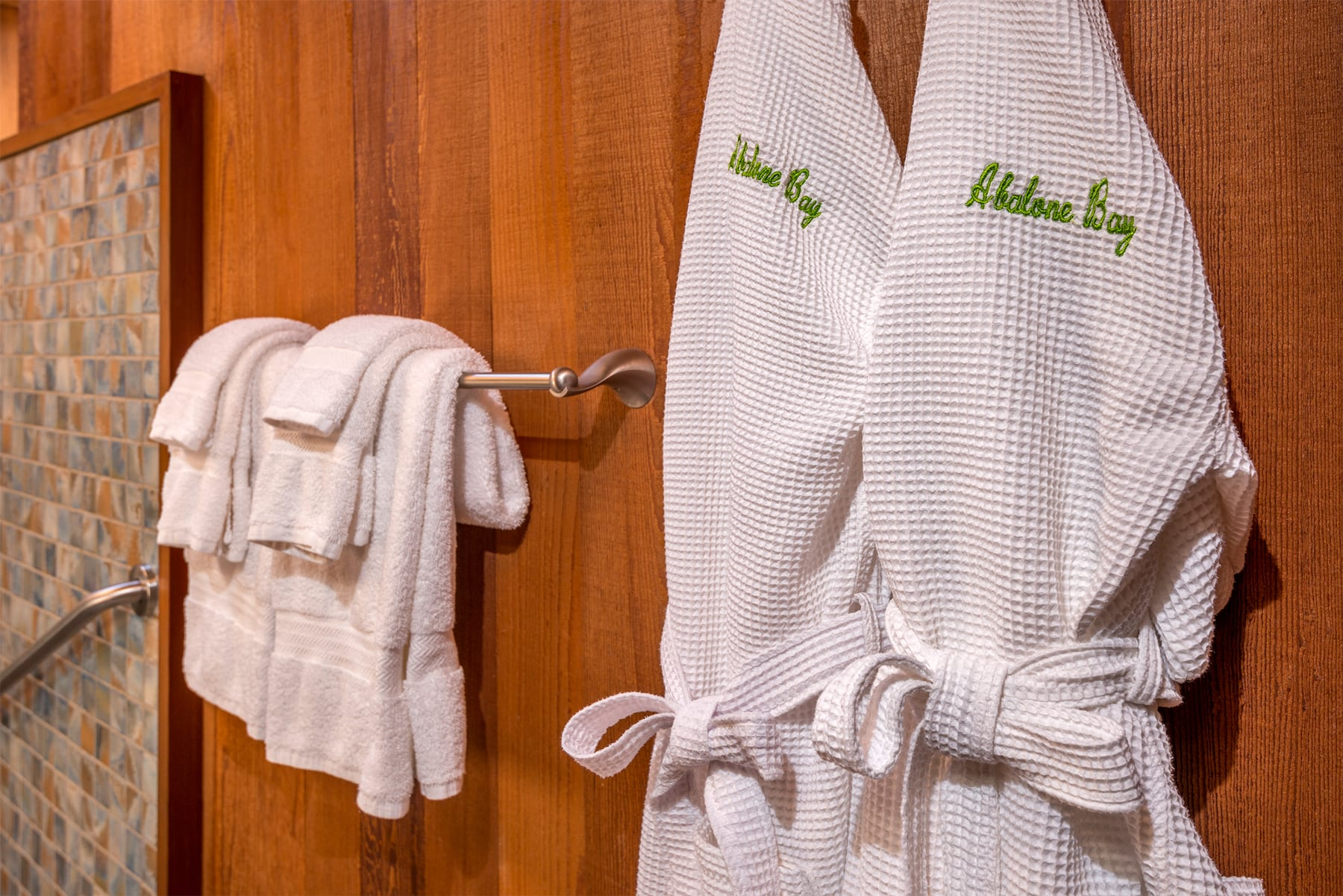 Bath, Bath robes, Abalone Bay, Sea Ranch, Vacation Rental