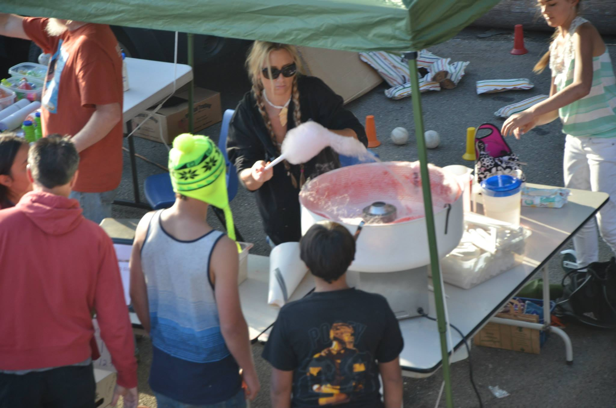 cotton candy,independence day 2015 events,