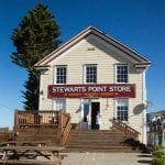 Stewarts Point Store and bakery near Sea Ranch