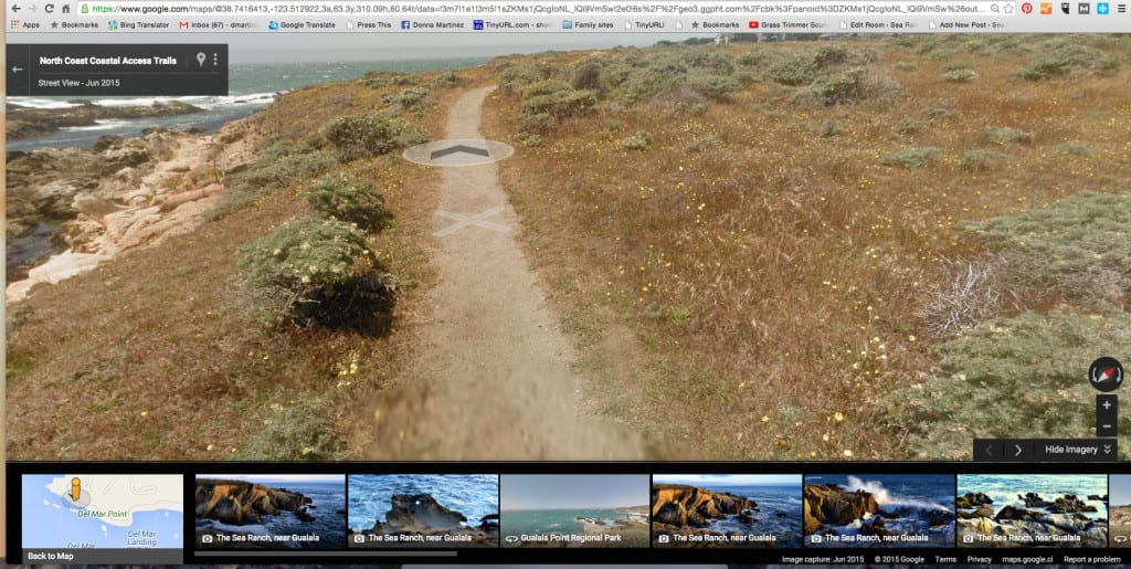 Google Street View, Sea Ranch