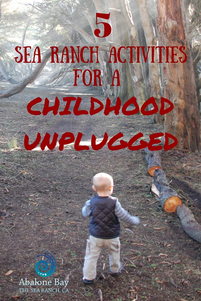 Sea Ranch Activities, Childhood Unplugged