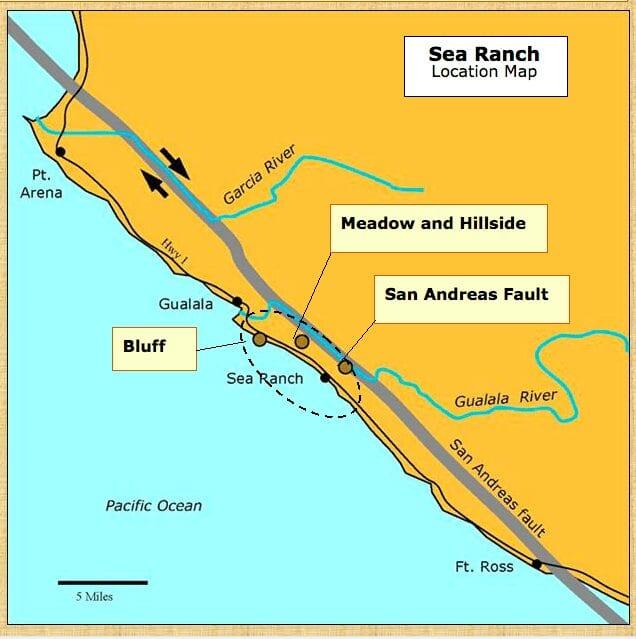 High Surf, Sea Ranch, Abalone Bay, tsunami,