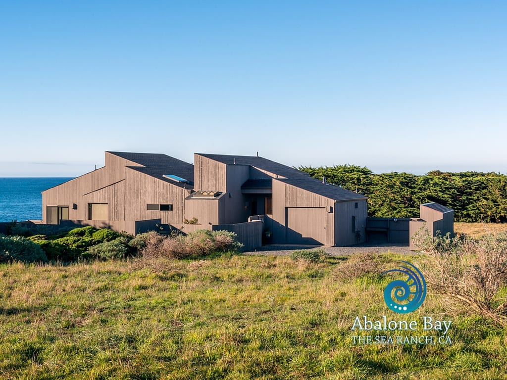 Sea ranch Abalone Bay, vacation rental, architecture
