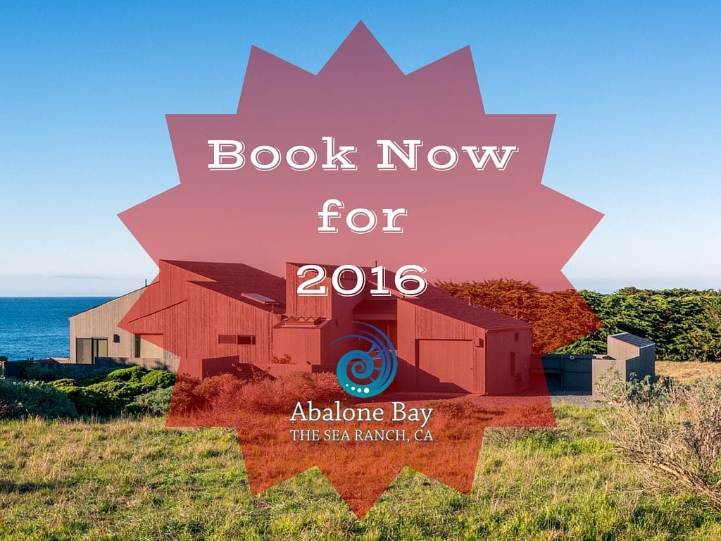 Baby Boomer Travel Trends ,Sea Ranch, Abalone Bay,Book 2016