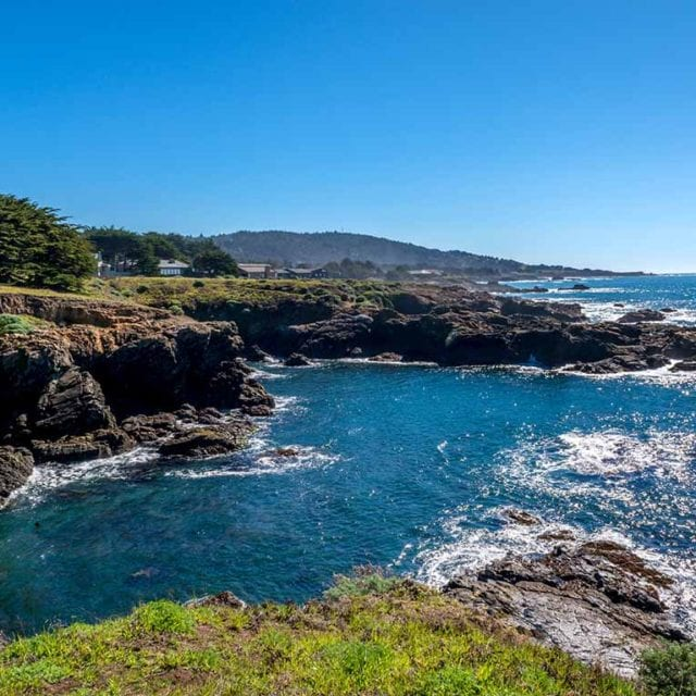 Oceanfront views, Sea Ranch, Abalone Bay, vacation rental
