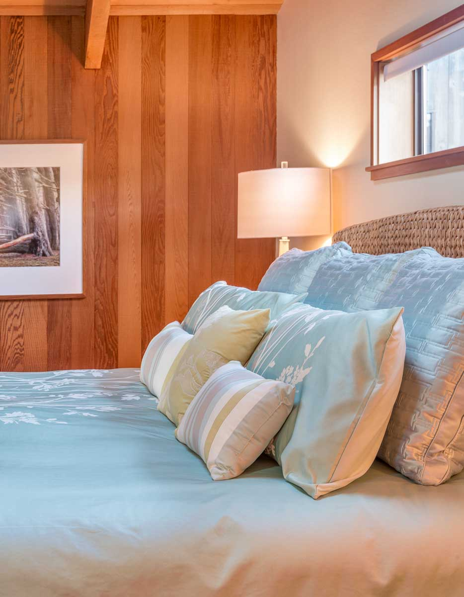 principal bedroom, master bedroom, Sea Ranch , Abalone Bay,vacation rental