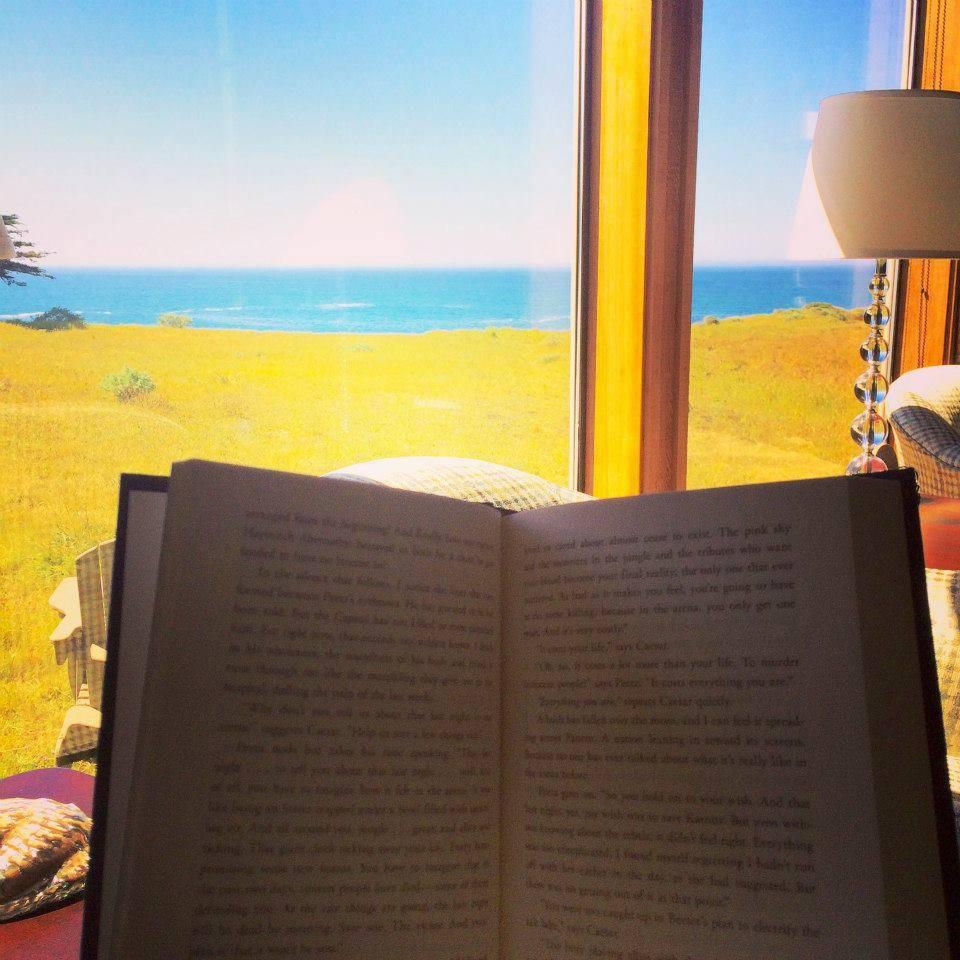 reading retreat, go local, Dog day, Sea Ranch, Abalone Bay