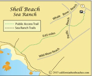 Shell Beach, Sea Ranch, Pokémon Go,