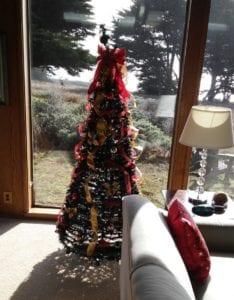 Christmas season, Christmas tree, Sea Ranch, Abalone Bay