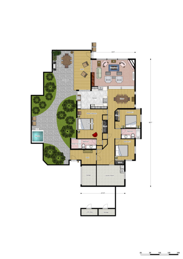 floor plans and 3d plans of sea ranch abalone bay