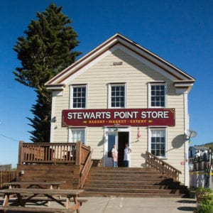 pizza night, stewarts point store