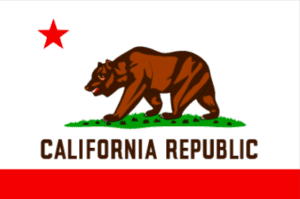 California red abalone, California State Flag, California grizzly bear