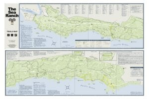 Sea Ranch Trails Map, sea ranch bike riding