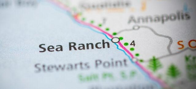 Sea Ranch map