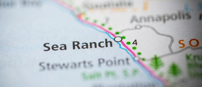 Sea Ranch map