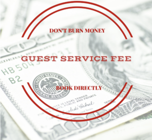 guest fees, save money, book direct