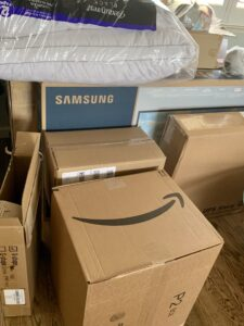 Packages arrive