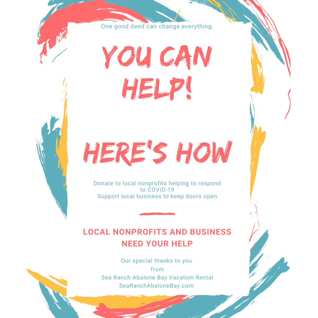 you can help