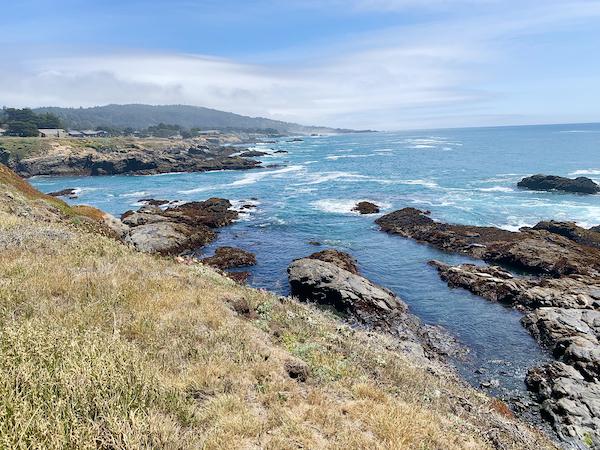 ocean bluff vista